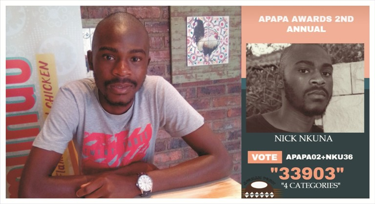 """Nick Nkuna's book, """"A Hearse In Different Colours!"""" nominated for the 2nd Annual African Print Authors & Poetry Awards 2019"""